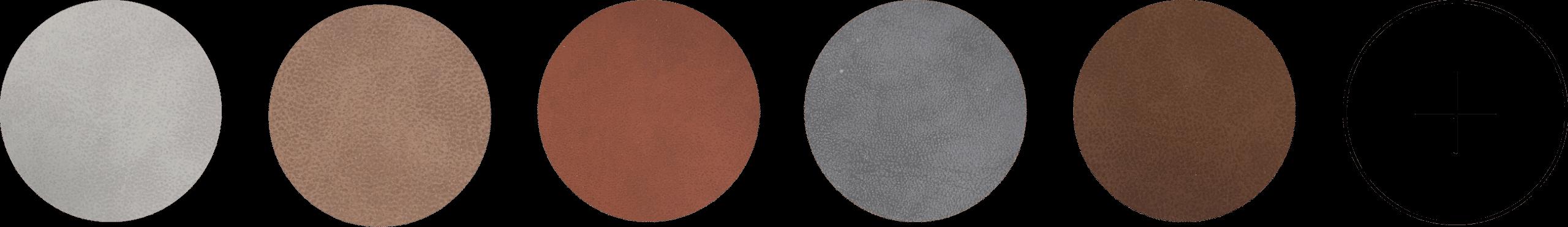 12 verschillende donkere kleuren bekleding voor stoelen en banken