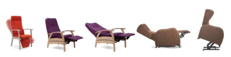 Hoge stoel voor ouderen Relaxstoel
